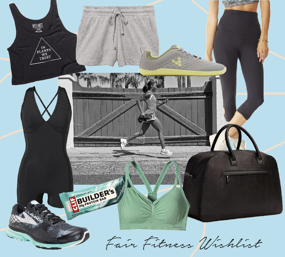 This is Jane Wayne - Fair Friday Fitness Wishlist