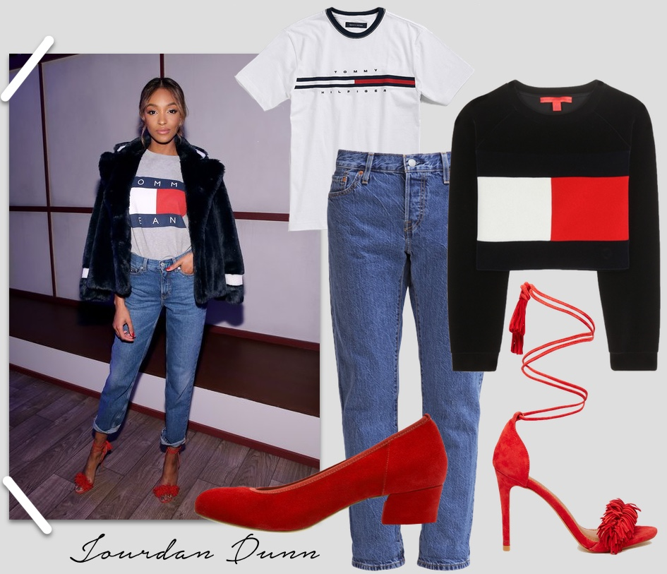 jourdan dunn tommy hilfiger