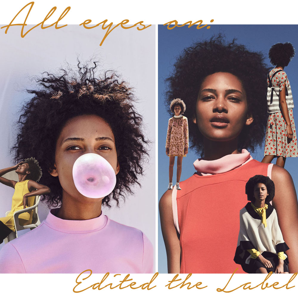 All eyes on // Edited the Label <br/> für den Sommer 2016