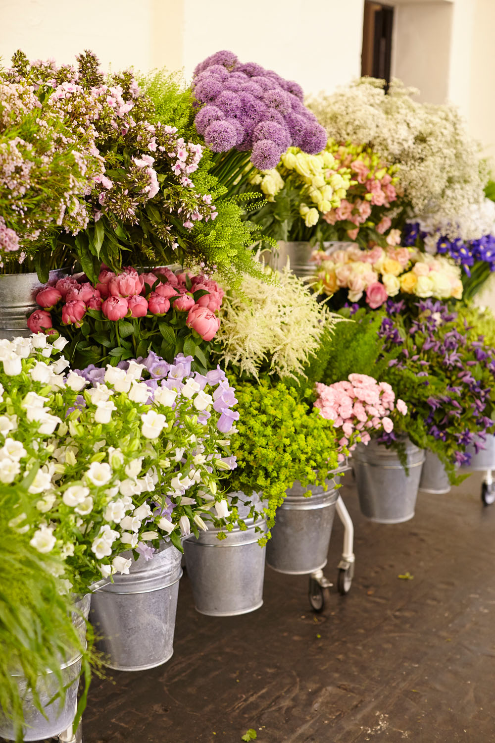 """Recap & Save The Date For Hamburg / / So Was First """"Mint & Berry Flower Market"""""""