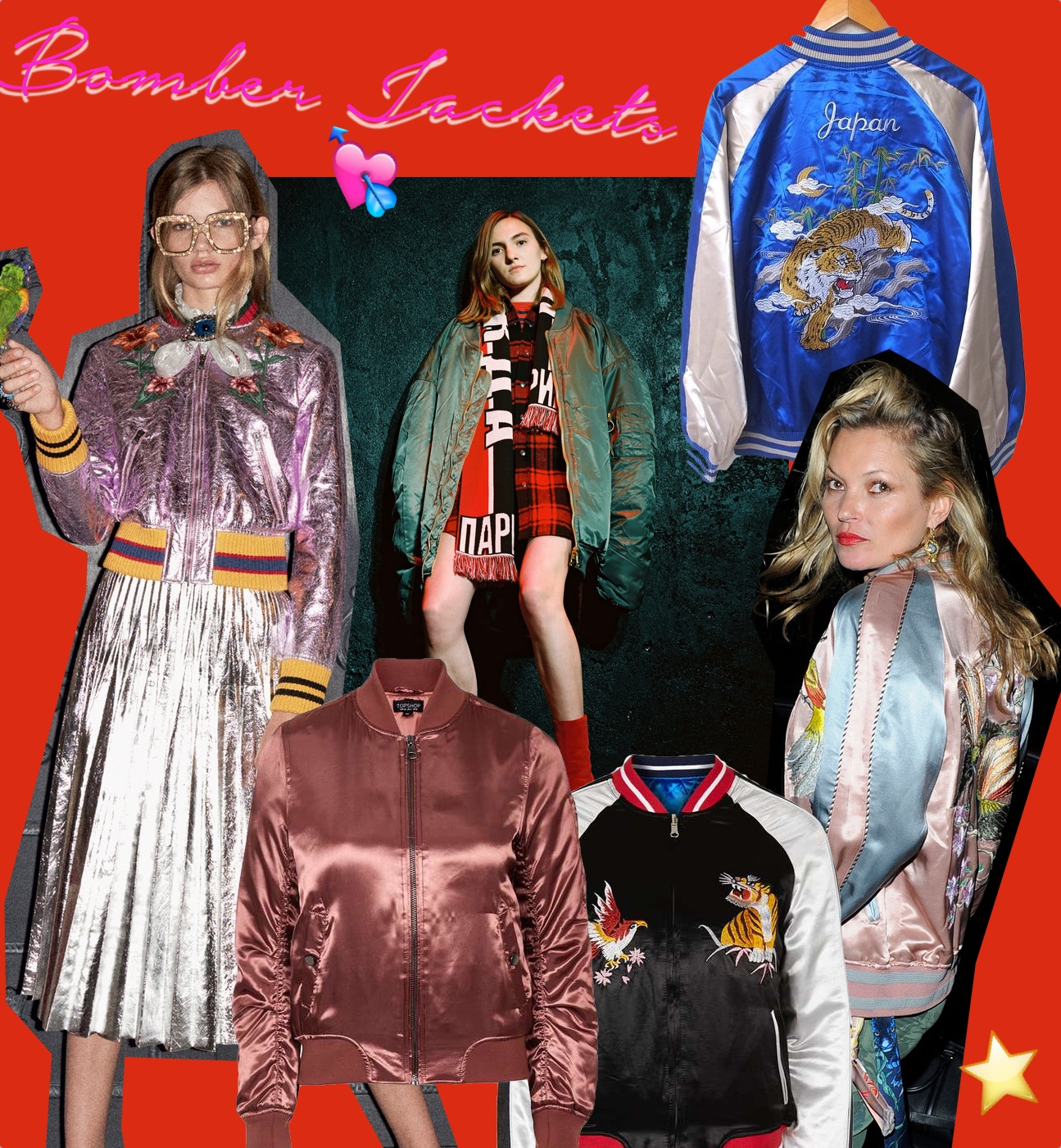 shop satin bomber jacket bomberjacken