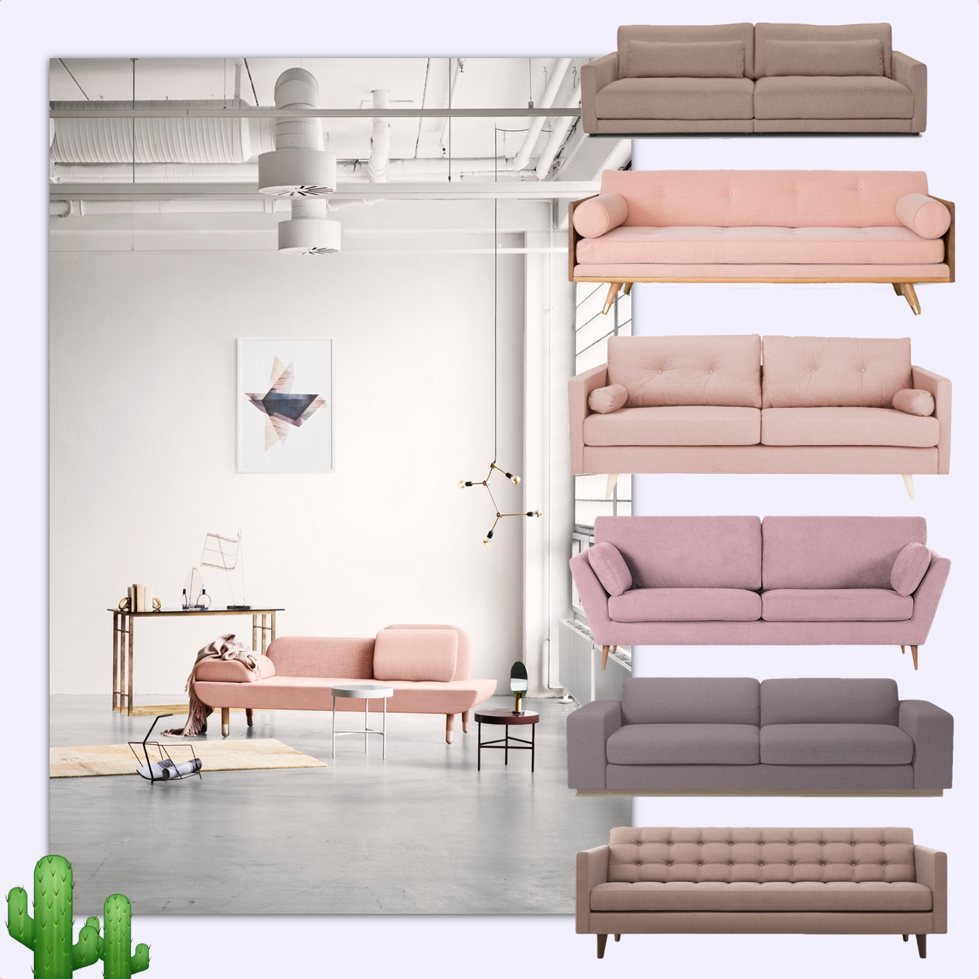 rosa sofa mauve couch this is jane wayne shop