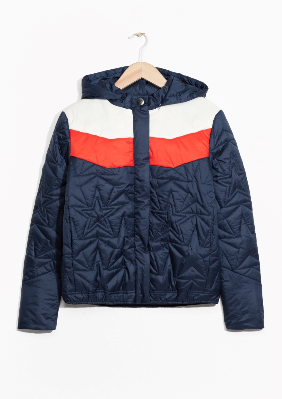 and other stories bomberjacke