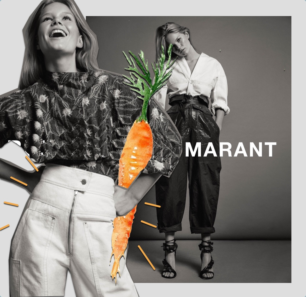 isabel maratn carrot pants