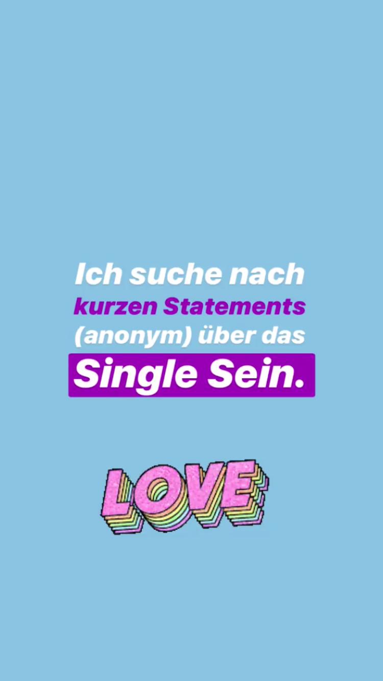 Single sein