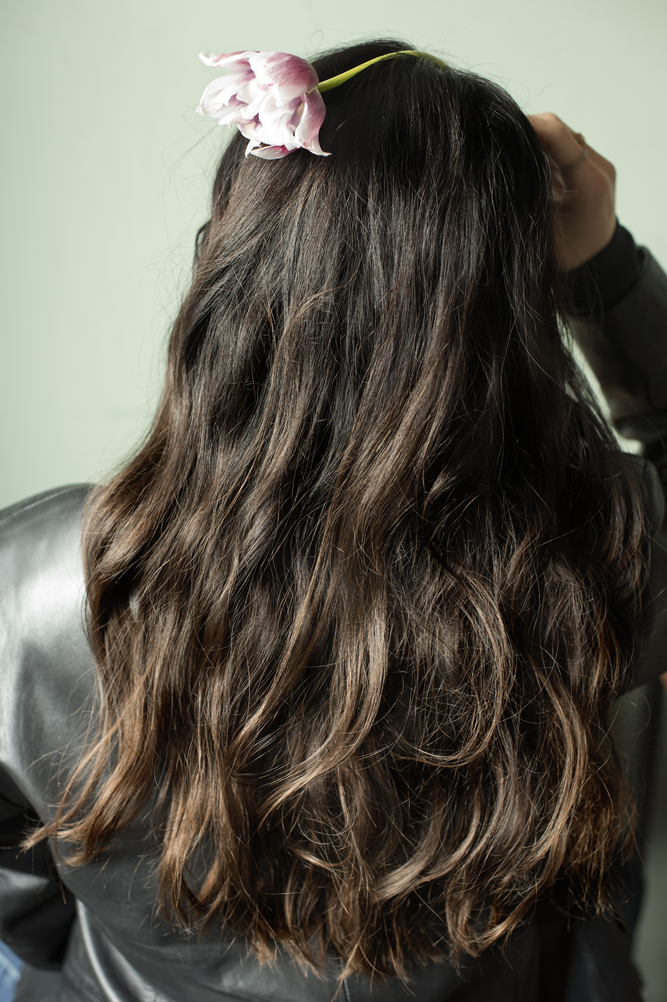 Frauen lange haare schnitt