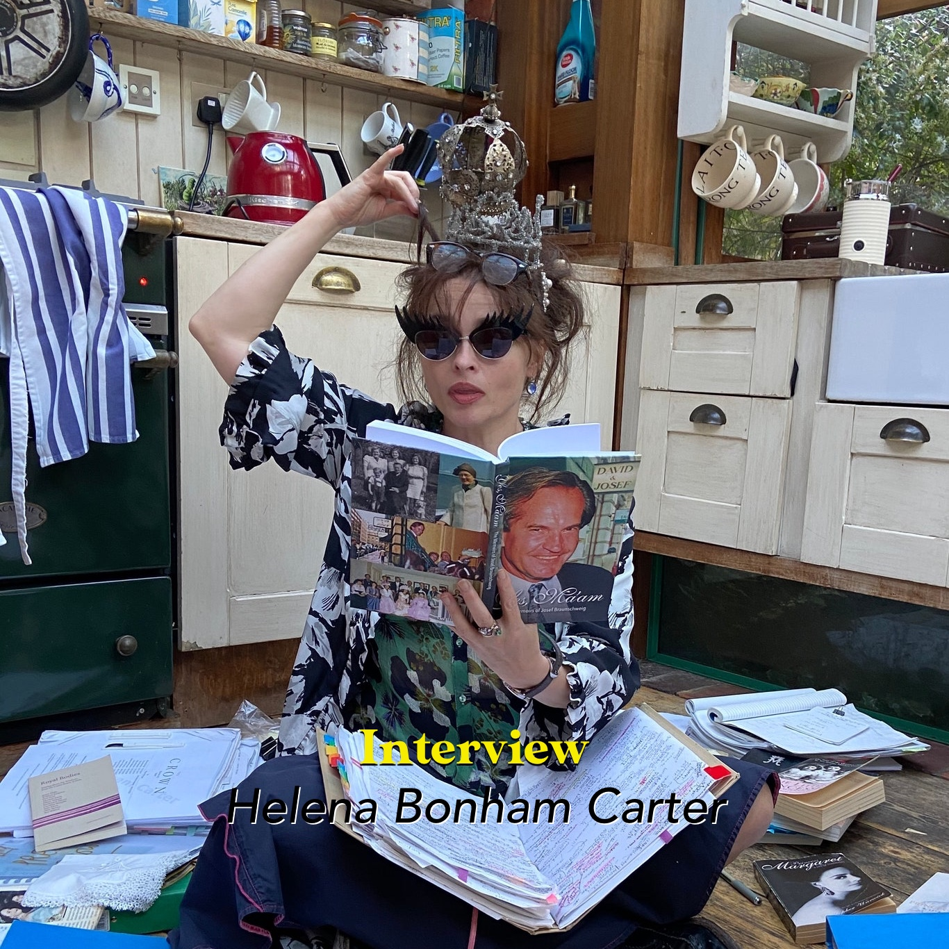 Interview: Helena Bonham Carter, wie war Prinzessin